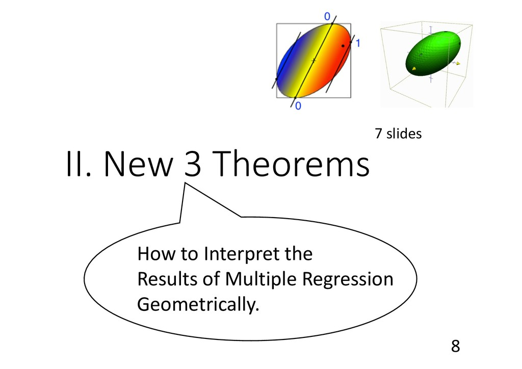 II. New 3 Theorems 7 slides How to Interpret th...