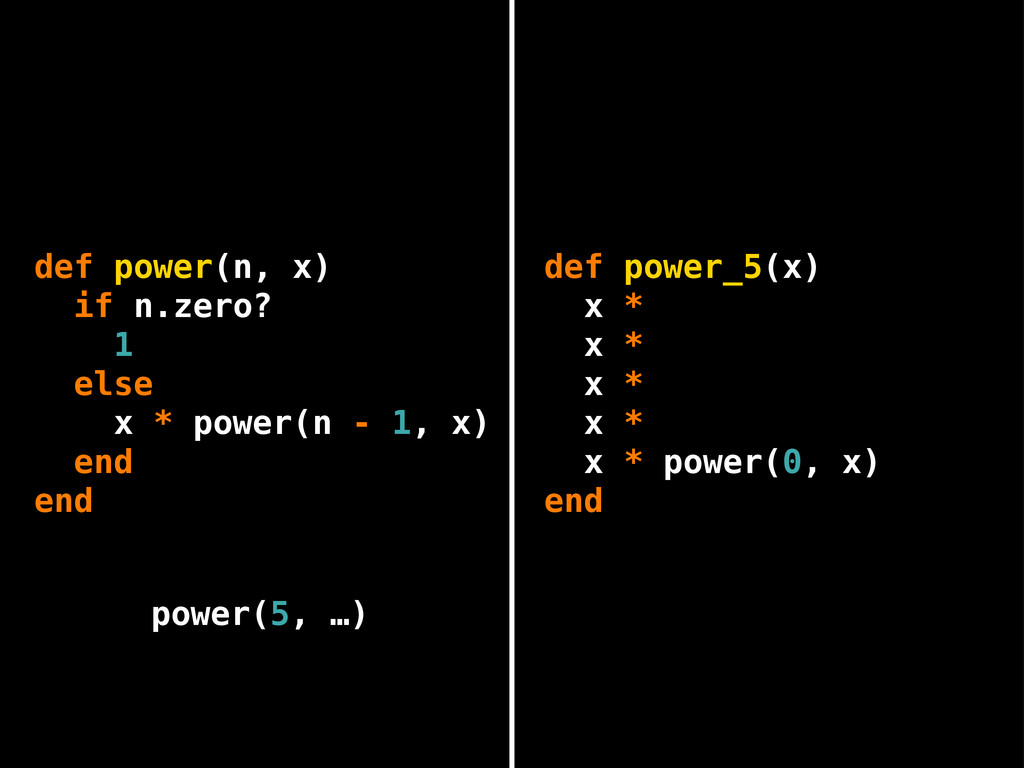 def power_5(x) x * x * x * x * x * end power(0,...