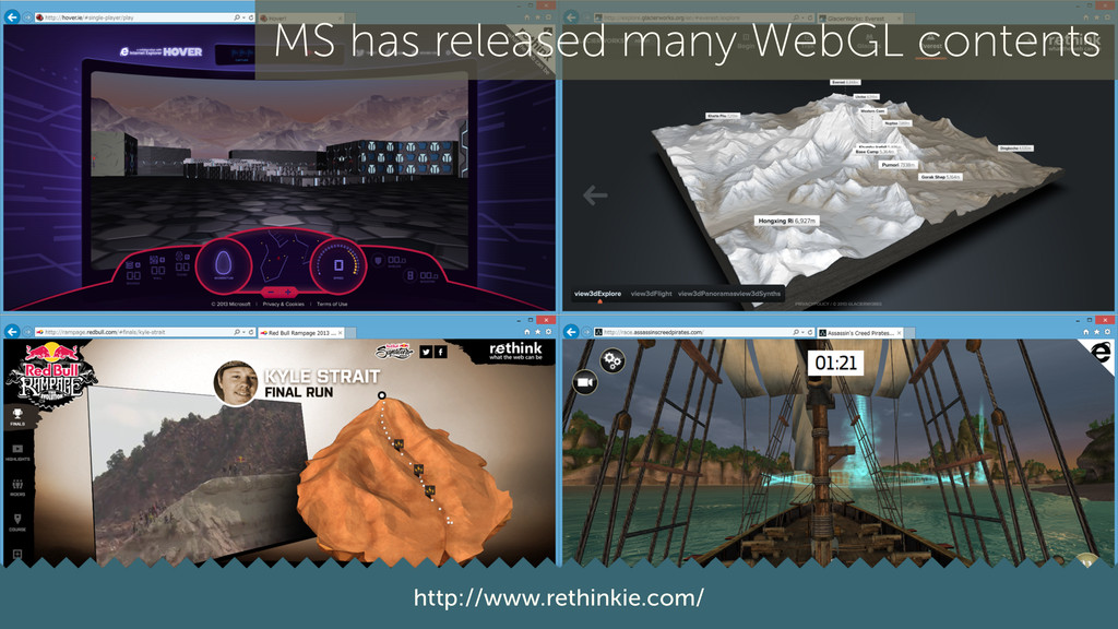 20 http://www.rethinkie.com/ MS has released ma...
