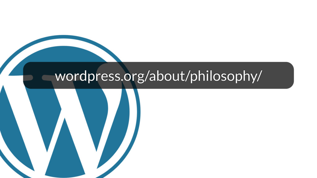 wordpress.org/about/philosophy/