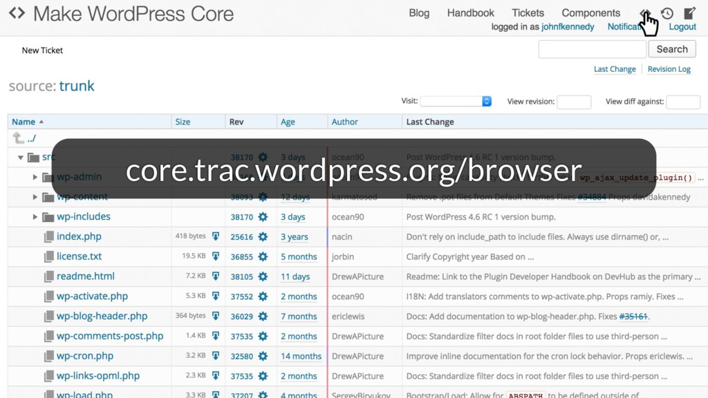 core.trac.wordpress.org/browser