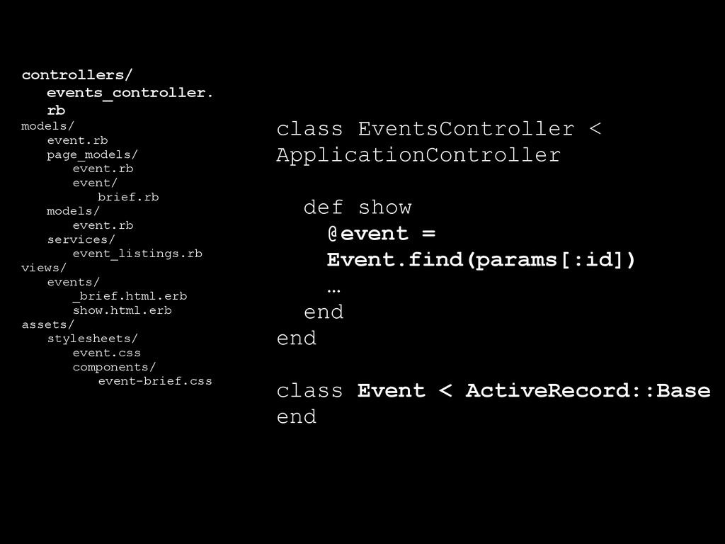 controllers/ events_controller. rb models/ even...