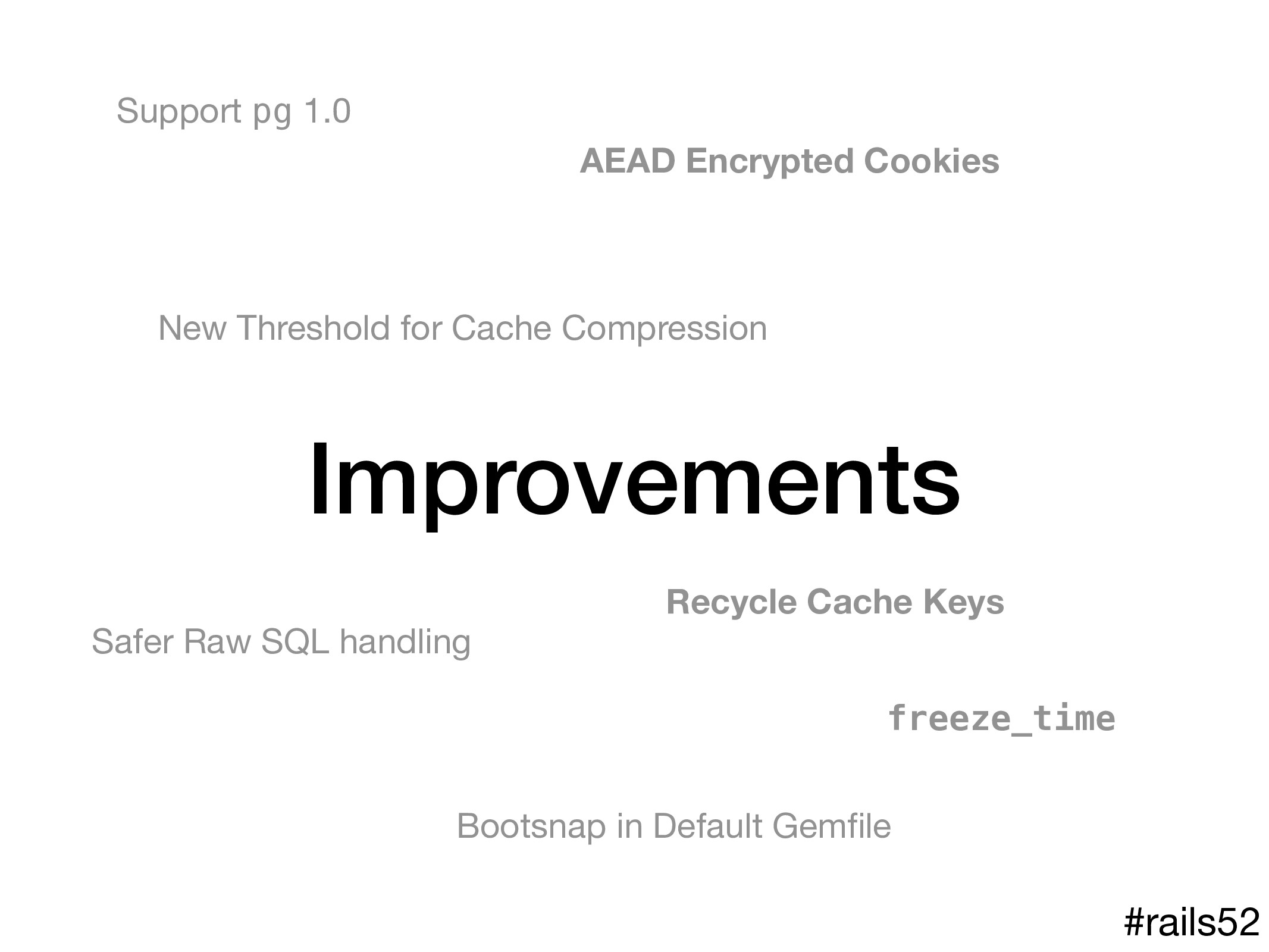 Improvements Recycle Cache Keys AEAD Encrypted ...