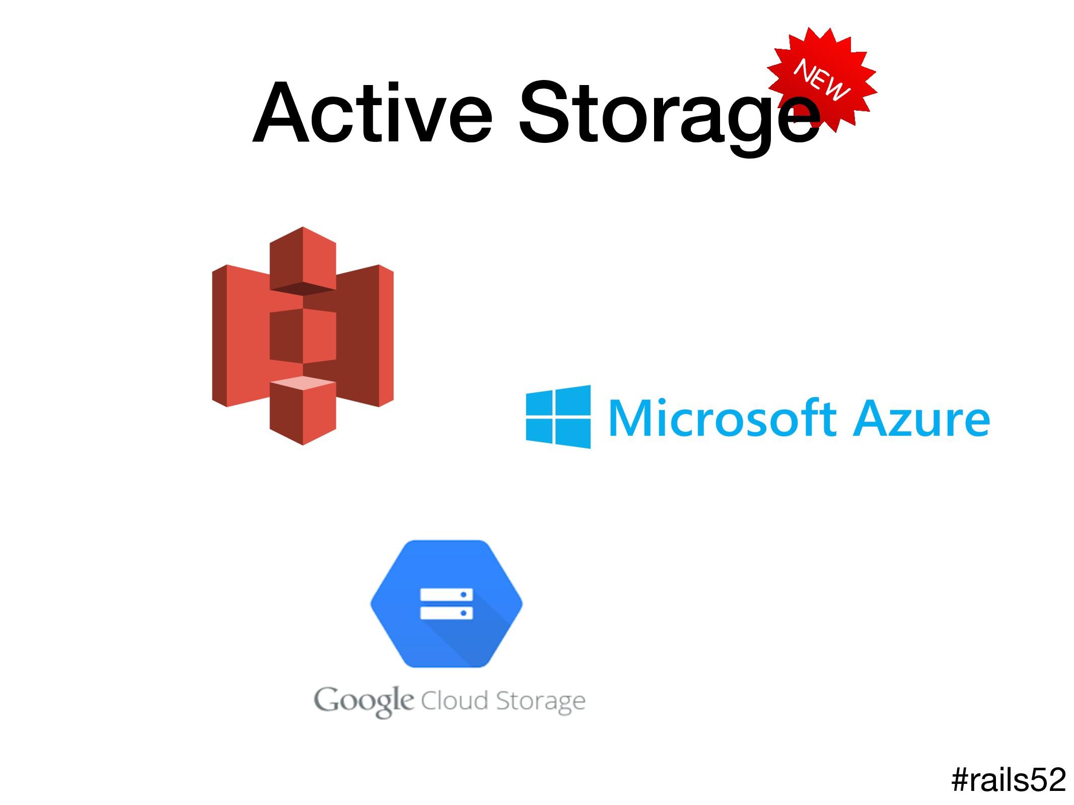 NEW Active Storage #rails52