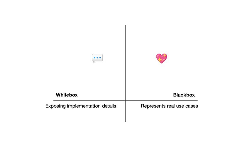Blackbox Whitebox 💖 💬 Exposing implementation d...