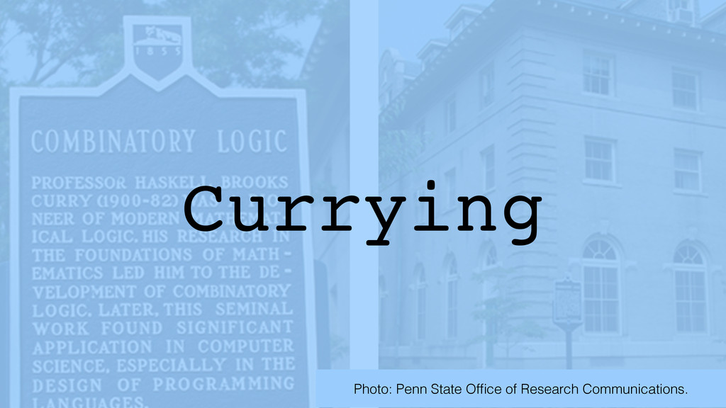 Currying Photo: Penn State Office of Research Co...