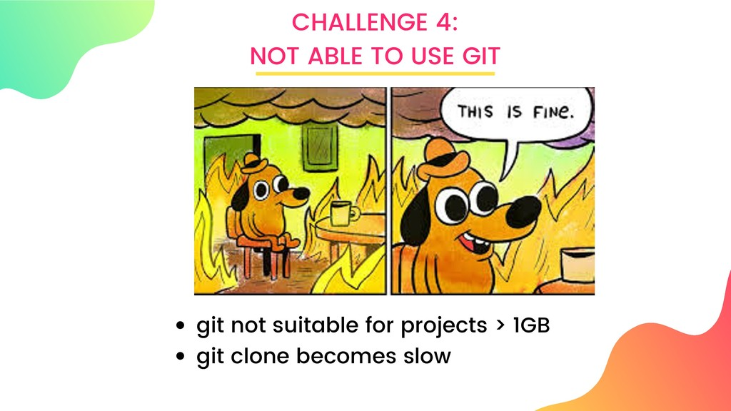 CHALLENGE 4: NOT ABLE TO USE GIT git not suitab...