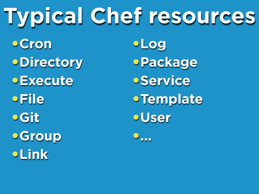 •Cron •Directory •Execute •File •Git •Group •Li...
