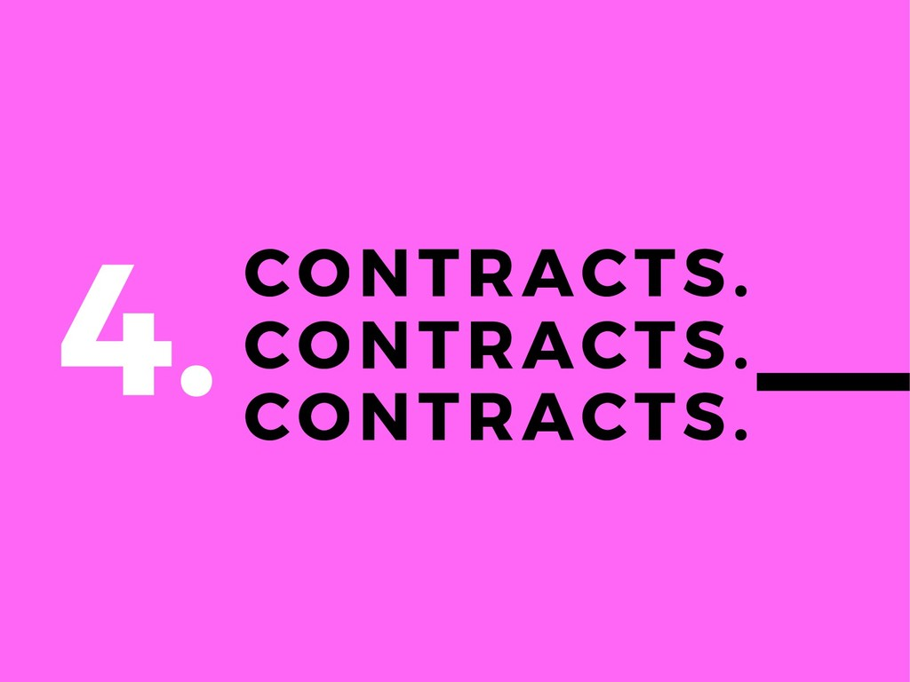 CONTRACTS. CONTRACTS. CONTRACTS. 4.