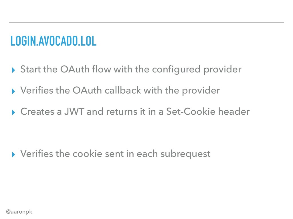 @aaronpk LOGIN.AVOCADO.LOL ▸ Start the OAuth flo...