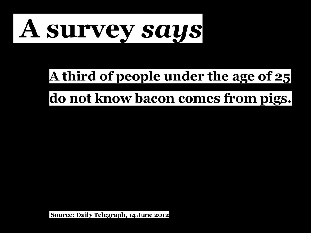 A third of people under the age of 25 do not kn...
