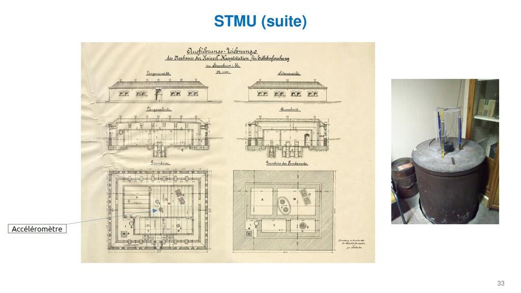 33 STMU (suite)