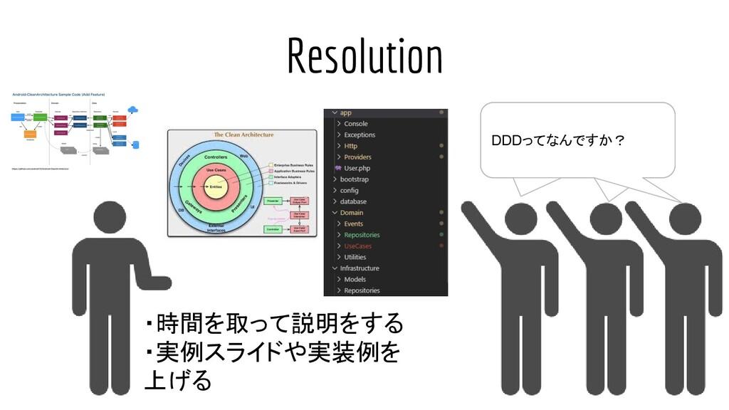 Resolution DDDってなんですか? DDDってなんですか? DDDってなんですか? ...