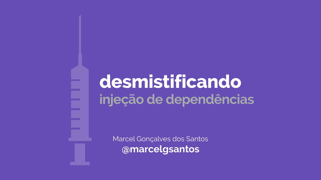 Marcel Gonçalves dos Santos @marcelgsantos desm...