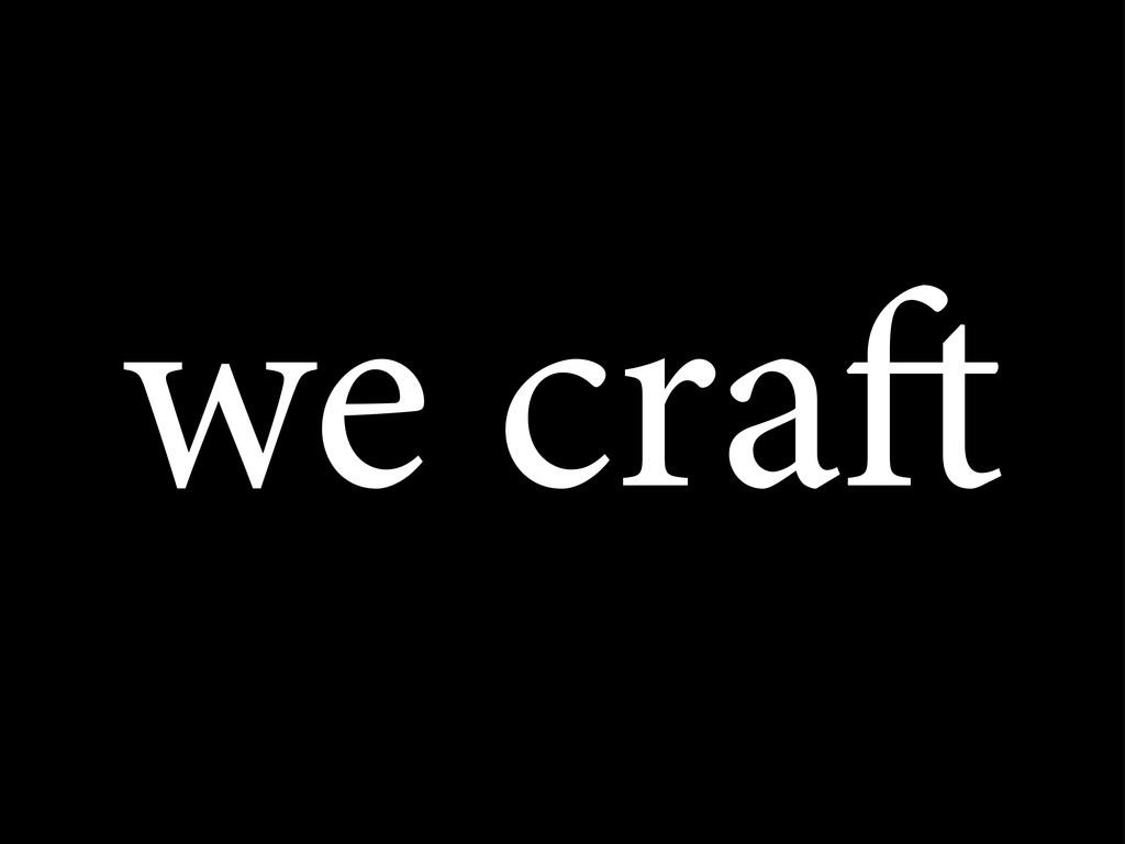 we cra