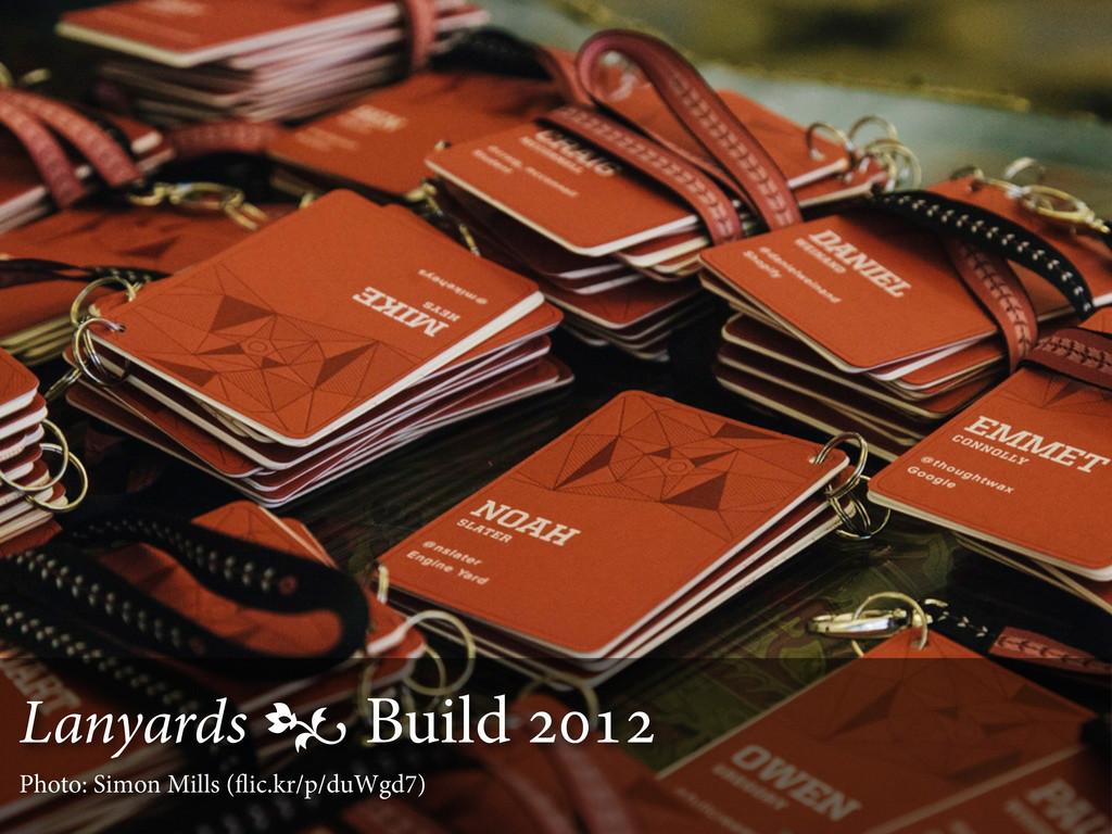 Lanyards  Build  Photo: Simon Mills (flic.k...
