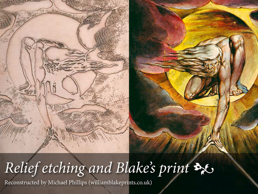 Relief etching and Blake's print  Reconstructe...