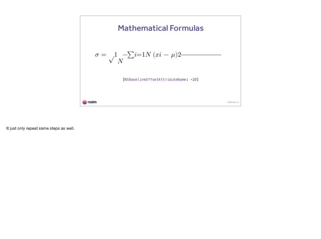 kk@realm.io Mathematical Formulas [NSBaselineOf...