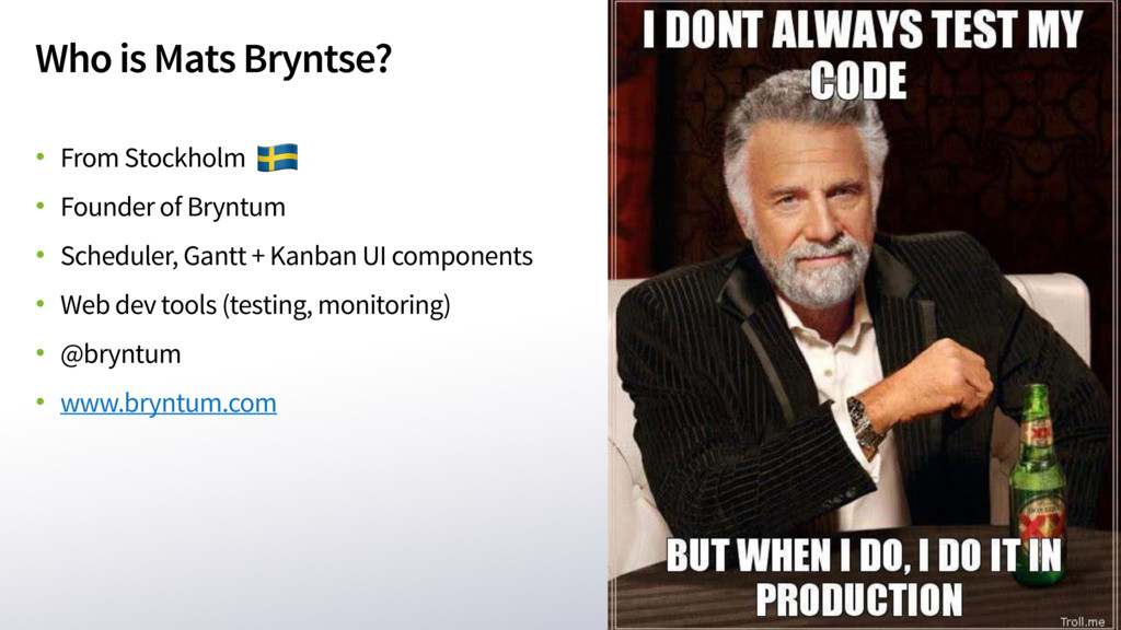 Who is Mats Bryntse? • From Stockholm • Founder...