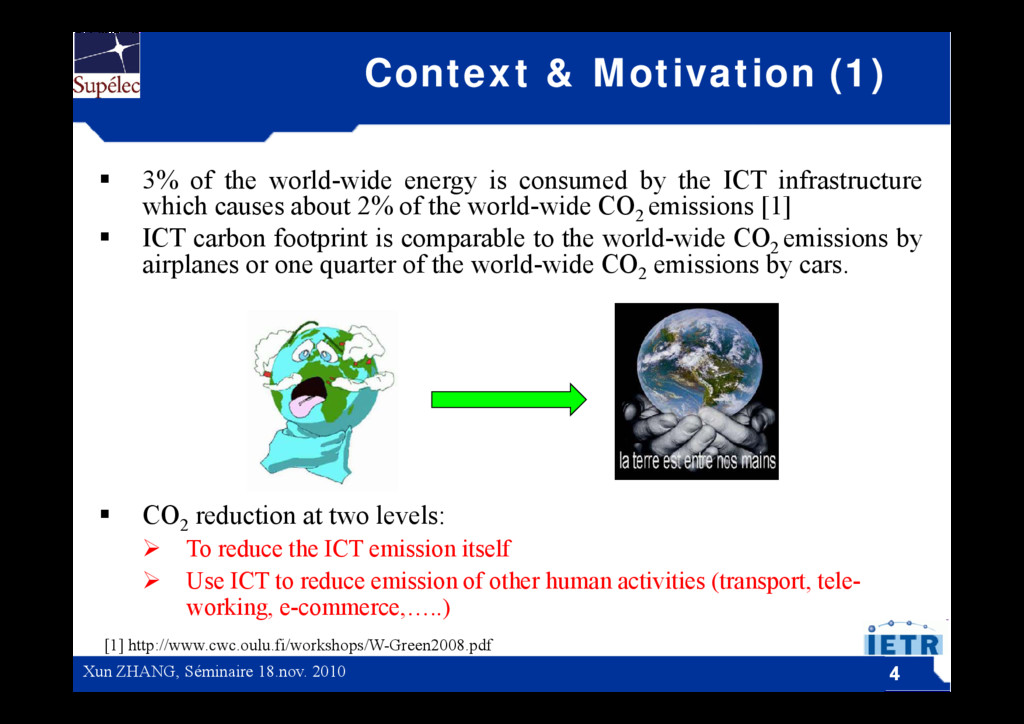 Context & Motivation (1)  3% of the world-wide...