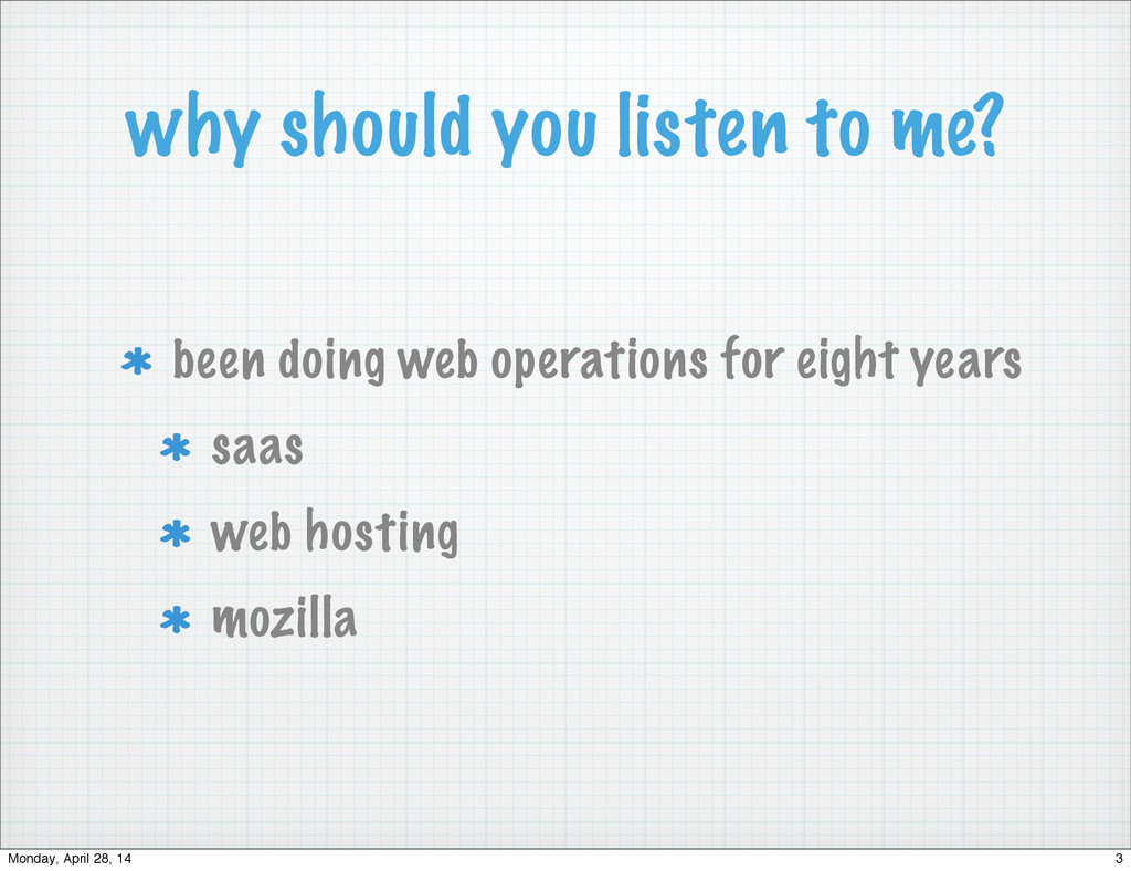 why should you listen to me? been doing web ope...