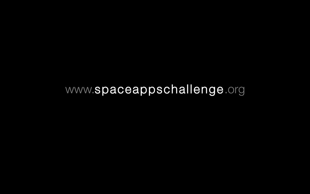 www.spaceappschallenge.org