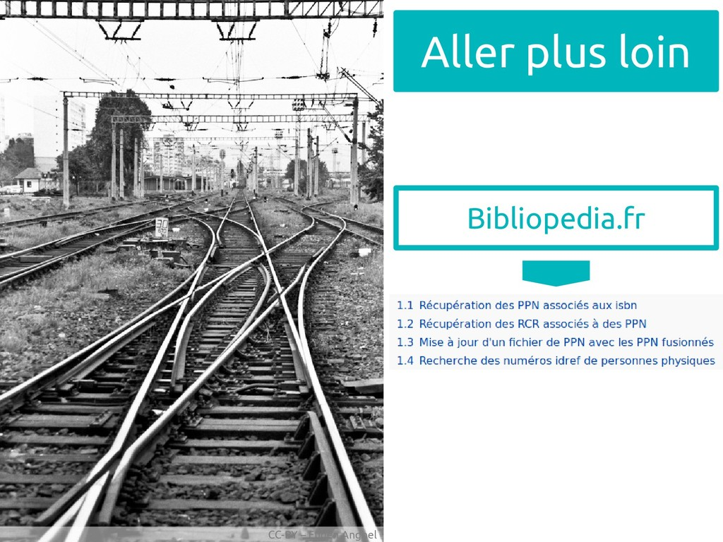 CC-BY – Eugen Anghel Aller plus loin Bibliopedi...