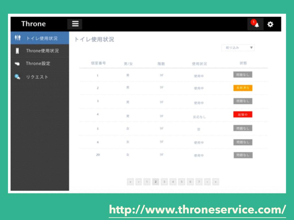 http://www.throneservice.com/