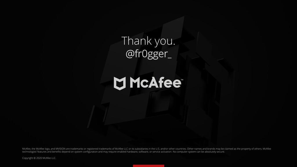 Thank you. @fr0gger_