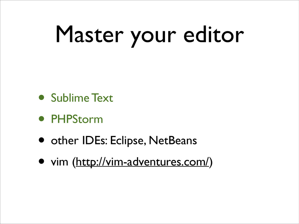 Master your editor • Sublime Text	 
