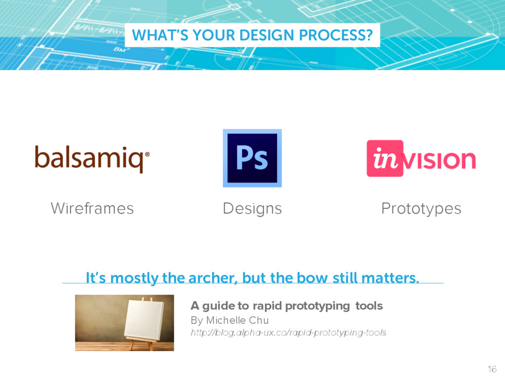 WHAT'S YOUR DESIGN PROCESS? It's mostly the arc...