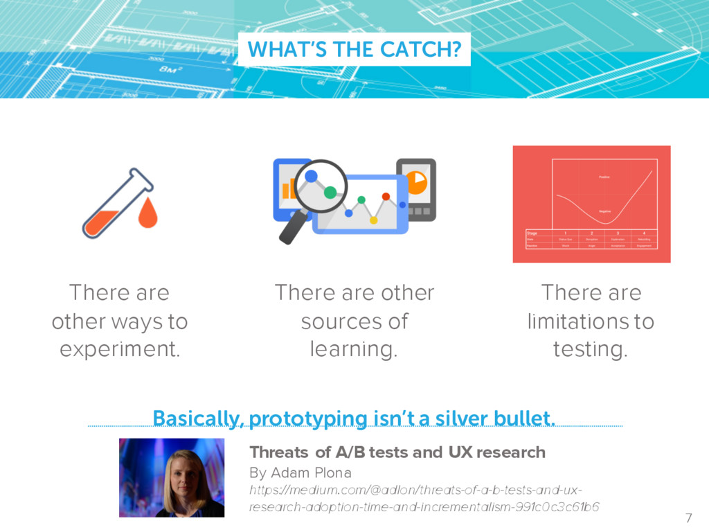 WHAT'S THE CATCH? Basically, prototyping isn't ...