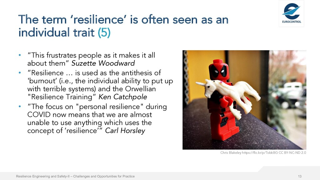 The term 'resilience' is often seen as an indiv...