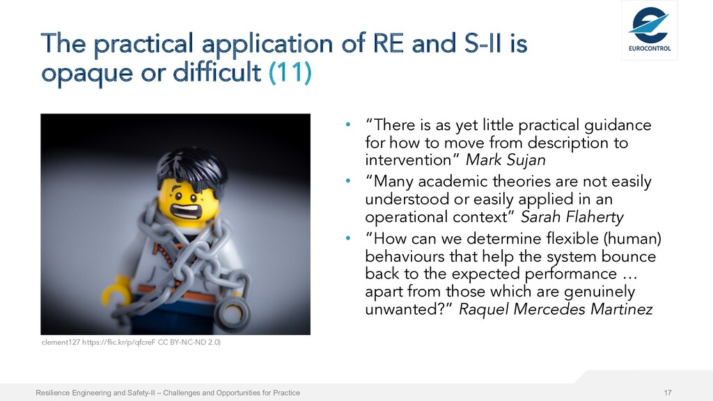 The practical application of RE and S-II is opa...