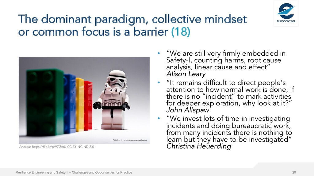 The dominant paradigm, collective mindset or co...