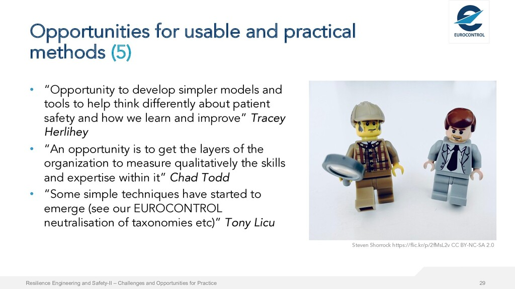 Opportunities for usable and practical methods ...