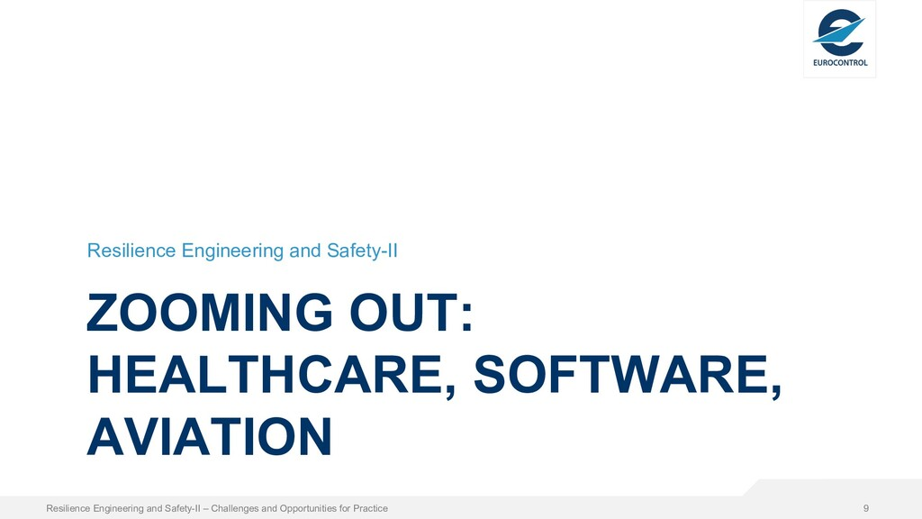 ZOOMING OUT: HEALTHCARE, SOFTWARE, AVIATION Res...