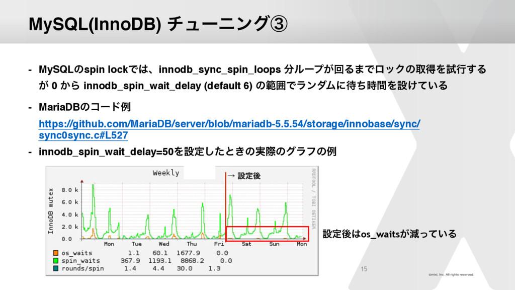MySQL(InnoDB) νϡʔχϯάᶅ - MySQLͷspin lockͰɺinnod...