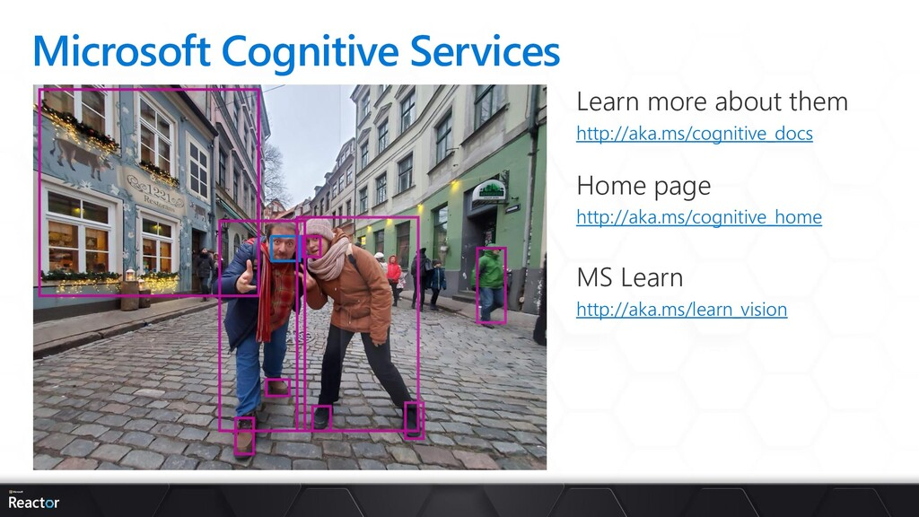 Microsoft Cognitive Services Learn more about t...