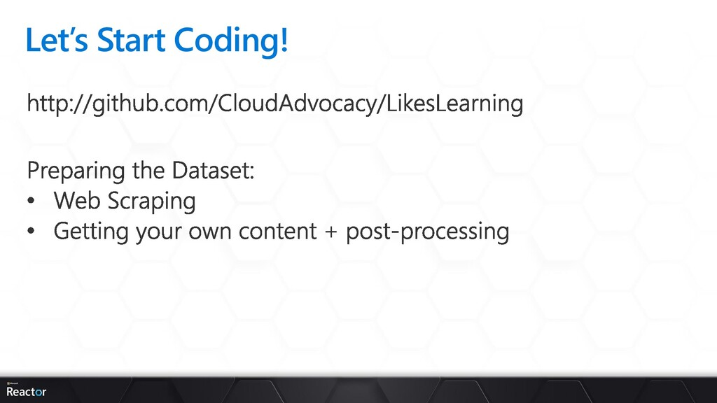 Let's Start Coding!