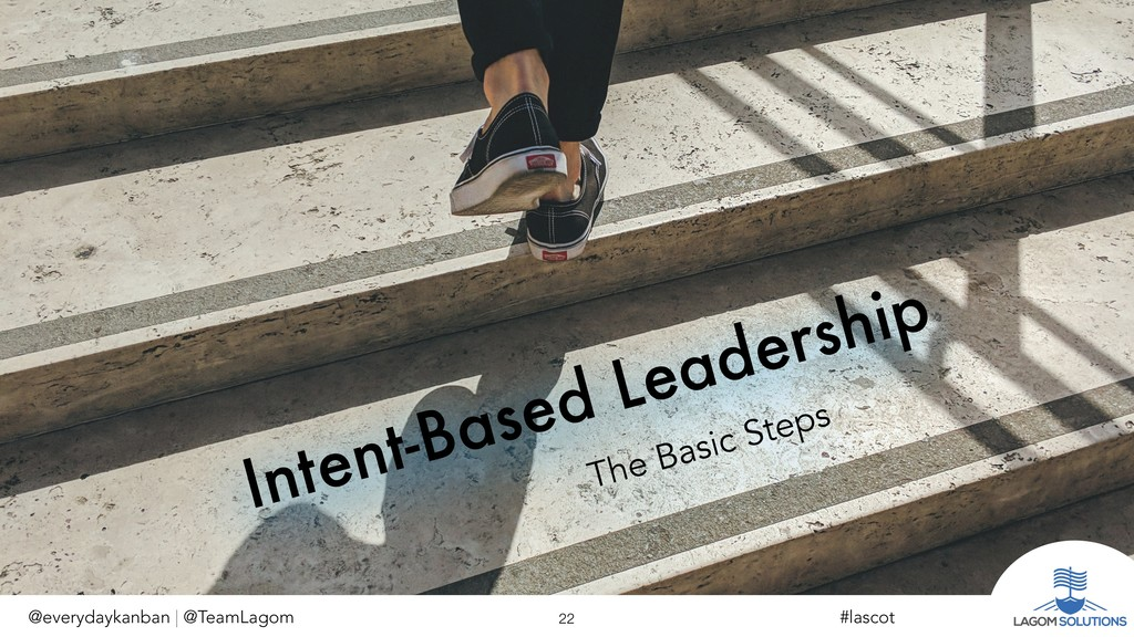 Intent-Based Leadership The Basic Steps @everyd...