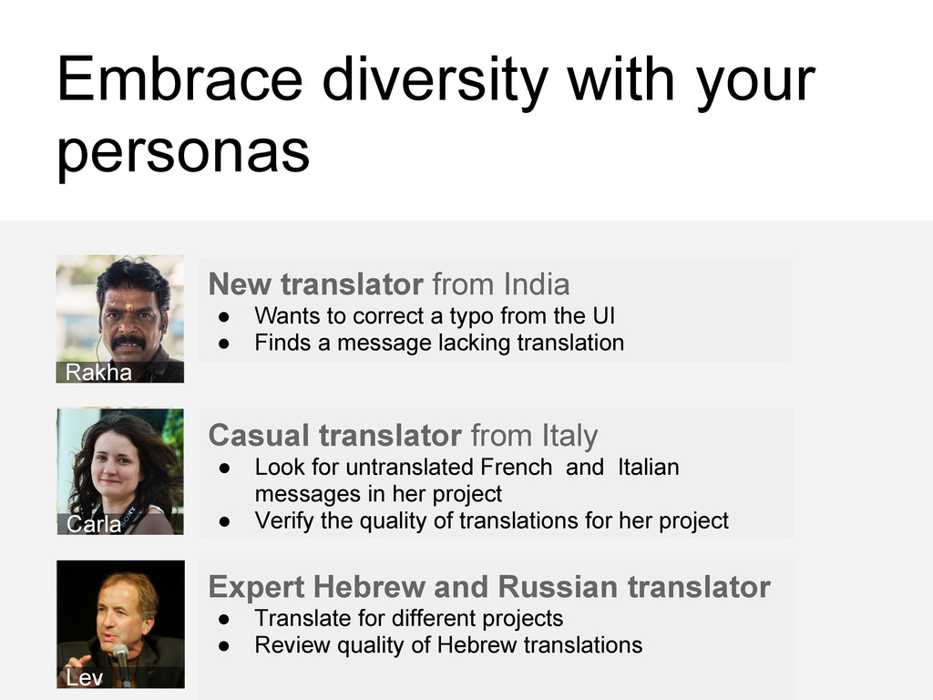 Embrace diversity with your personas Casual tra...
