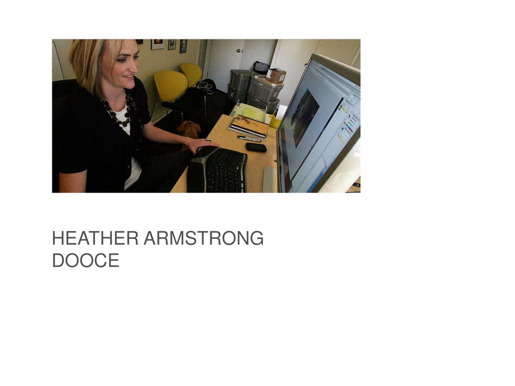 HEATHER ARMSTRONG DOOCE