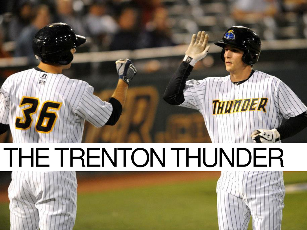 THE TRENTON THUNDER