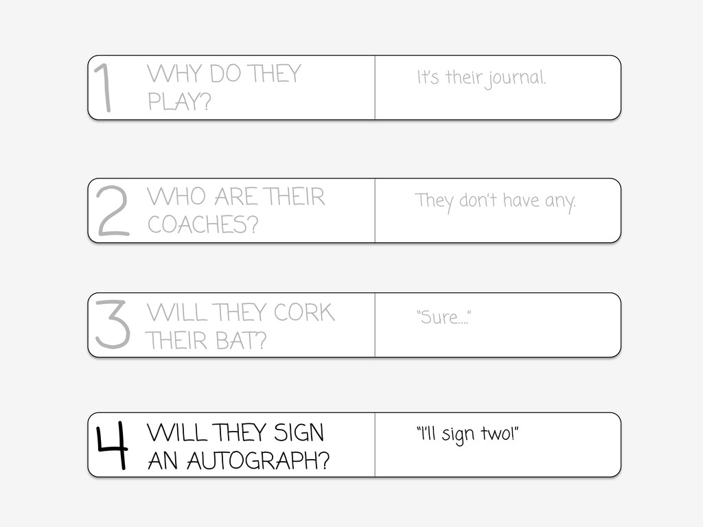 """4 """"I'll sign two!"""" WILL THEY SIGN AN AUTOGRAPH?..."""