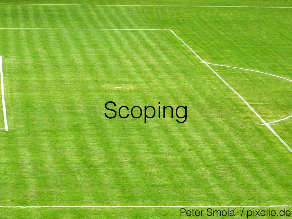 Scoping Peter Smola / pixelio.de