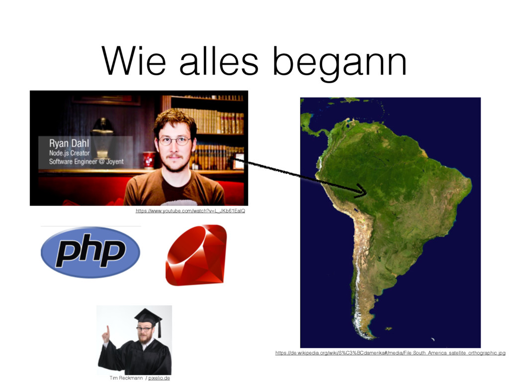 Wie alles begann https://www.youtube.com/watch?...