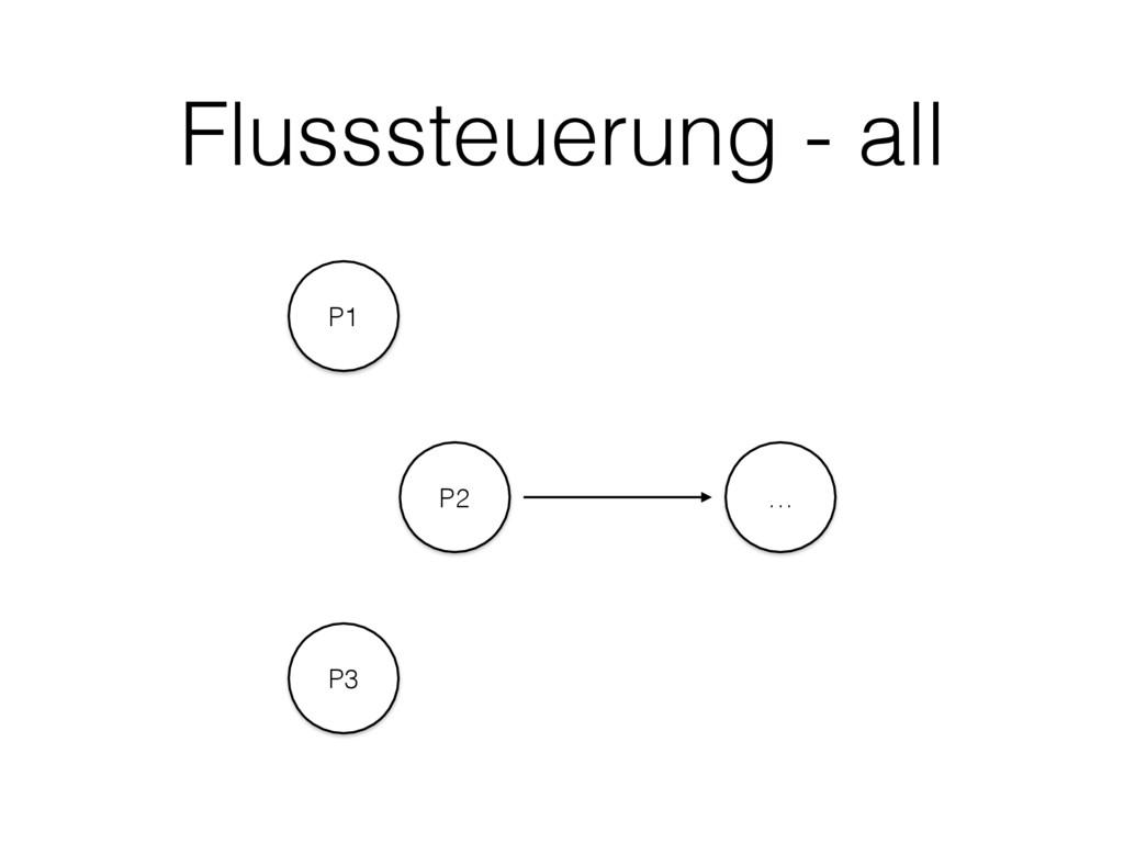 Flusssteuerung - all P1 P2 P3 …