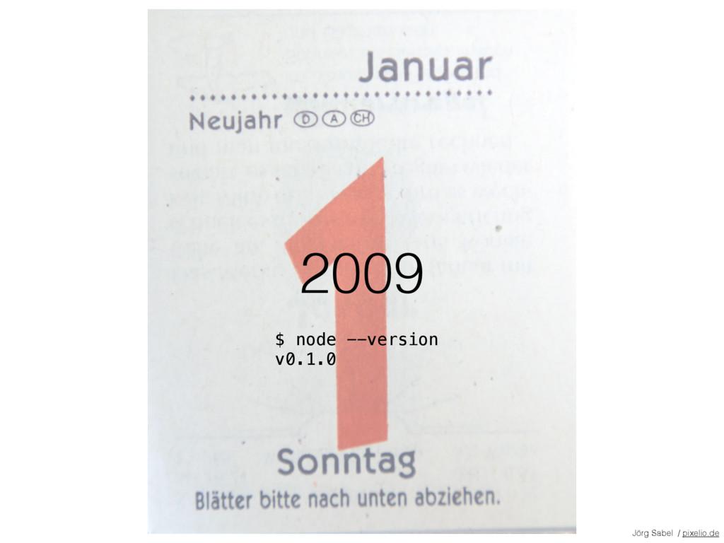2009 Jörg Sabel / pixelio.de $ node --version v...