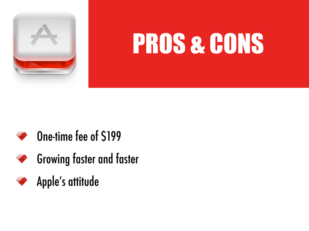 PROS & CONS One-time fee of $199 Growing faster...